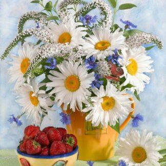 Broderie Diamant 5D - Bouquet de fleurs