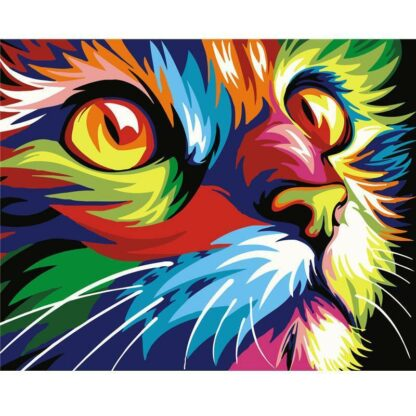 Broderie Diamant 5D - Chat