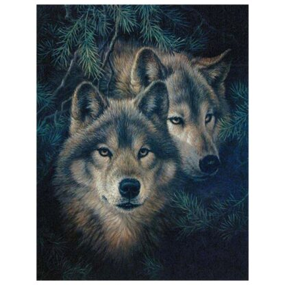 Kit Broderie Diamant - Loup