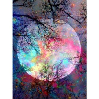 Broderie Diamant 5D - Lune